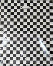 ►► PLASTIC BAGS XL checkered black & white