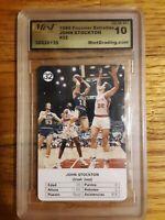1988 Fournier Estrellas John Stockton #32 Gem Mint 10