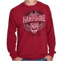New Hampshire Traditional Tourist Travel NH Long Sleeve Tees Shirts T-Shirts