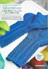 KNITTING PATTERN  FOR A PAIR OF MEN'S CABLE SOCKS