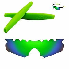 Polarized Emerald Vented Replacement+ Green Earsocks For Oakley M Frame Hybrid