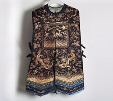 ANTIQUE CHINESE XIAPE LADY'S COURT WAISTCOAT 5TH RANK 19 C.