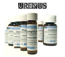 Homeopathy/ Homeopathic Remedy/ Medicine 30c/ 8 Gram
