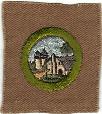 BOY SCOUT FARM HOME & ITS PLANNING SQUARE MERIT BADGE (TYPE A) MINT