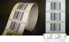 500 EAN Barcode Sticky Product Labels On Rolls 50x25 EAN-ROLL