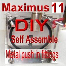 HHO DIY MAXIMUS 11 PLATE  DRY CELL  BUILD IT YOURSELF QUICK RELEASE GENERATOR