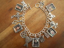 "AVENGED SEVENFOLD ""THE REV"" PHOTO CHARMS BRACELET"