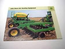 7 John Deere Tillage, Seeding & Drill Brochures, 202 Pages, Total, Excellent   #