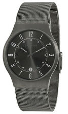Skagen Men's Grenen Titanium Case Stainless Steel Mesh Watch 233XLTTM