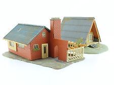 Faller H0 Nr. 262 und 264 Nurda Ferienhaus und Wohnhaus fertig aufgebaut