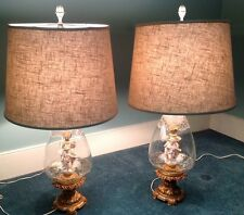 Gorgeous antique table lamps