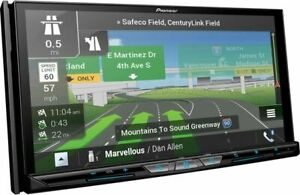 """Pioneer AVIC-W8600NEX Double DIN 6.2"""" DVD/CD Apple CarPlay Android Auto Receiver"""
