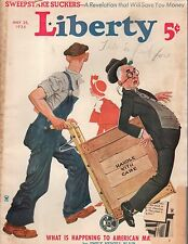 1935 Liberty May 25 -How the U.S. can prevent another war; Baseball; Marriage