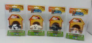 World's Smallest Pound Puppies Complete Set of 4 Puppy Plush NIP Hasbro Lab
