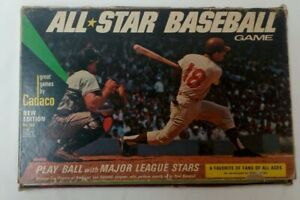 Vintage Cadaco All Star Baseball Game 1968 No 183