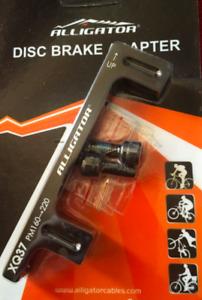 Alligator 160mm to 220mm post mount disc brake adaptor for caliper