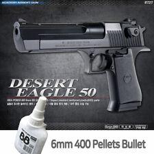 Academy DESERT EAGEL 50 BB Pistol Airsoft Shot Gun + BB 400ea Military Kit 17217