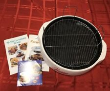 "Nuwave Oven Replacement Parts-Cooking Rack 4"" Liner Pan, Base, Recipe Books,DVD"