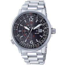 Citizen BJ7000-52E Mens Watch Eco-Drive Black Pilots Black Dial