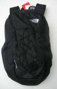 THE NORTH FACE  JESTER BACKPACK- LAPTOP SLEEVE-A3KV7- TNF BLACK