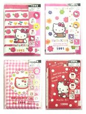 NEW Sanrio 1990 1991 1992 1998 design Hello Kitty Mini Letter set 4Packages 1set