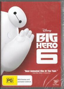 BIG HERO 6 - DISNEY - NEW & SEALED REGION 4 DVD FREE LOCAL POST