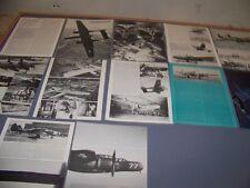 VINTAGE..P-61 BLACK WIDOW HISTORY.. (PART 1-4)..HISTORY/PHOTOS..RARE! (493J)