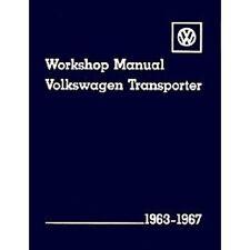 Volkswagen Transporter Official Workshop Manual 1963-1967 book paper
