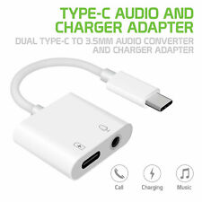 USB C to 3.5mm Headphone Adapter Fast Charging for Pixel 3 3XL Essential HTC U11