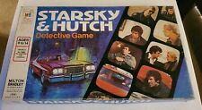 Vintage 1977 Milton Bradley Starsky and Hutch Detective Board Game Complete!