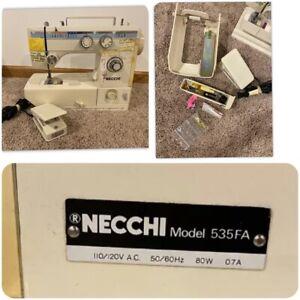 Necchi Sewing Machine Model 535FA
