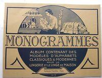 livre neuf -  BRODERIE  MONOGRAMMES - Alphabets classiques et modernes N° 2