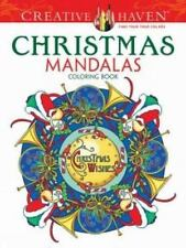 Adult Coloring: Creative Haven Christmas Mandalas Coloring Book by Marty Noble (