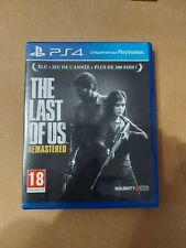 The Last Of Us Remastered PlayStation PS4