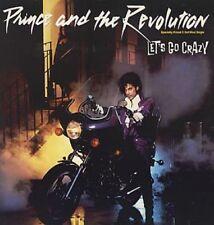 "PRINCE LET'S GO CRAZY RARE US EDITION 1984 12"" SINGLE"