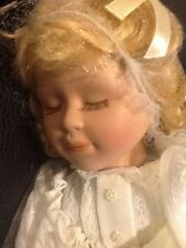 Heritage Signature Collection Porcelain Praying Doll