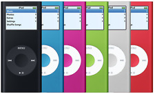 Apple iPod Nano 2nd Generation 2GB, 4GB, or 8GB (Choose Your GB Size and Color)