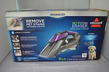 BISSELL Pet Stain Eraser Advanced Cordless Portable Spot Carpet Cleaner, 2054