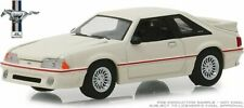 "GREENLIGHT 1989 FORD MUSTANG 5.0 ""25 YEARS"" SERIES 7 CREAM 1/64 DIECAST 27970 E"