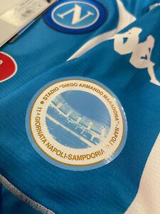 patch toppa stadio DIego Armando Maradona Napoli sampdoria 11a giornata 2020-21