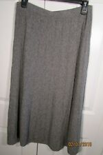 Neiman Marcus Cashmere mid-calf,  Skirt, Small, Elastic waist, A-Line, pull-on