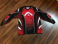 Used WDP Angel Red/Black Paintball Jersey Sz Large Free Shipping!!!