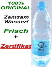 100% Original Zamzam Wasser aus Mekka Brunnen Mit Zertifikat *Muslim Islam hijab