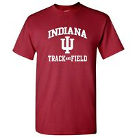 Indiana Hoosiers Arch Logo Track & Field College University Team T Shirt