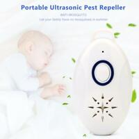 Mini Portable Ultrasonic Pest Repeller Electronic Mosquito Insect Repellent #w