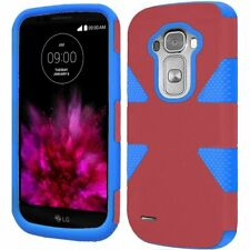 HR Wireless LG G Flex 2 - Dynamic Cover Case Marsala/Sky Blue