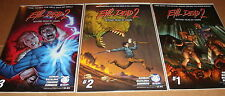 Evil Dead 2 Beyond Dead By Dawn 1 2 3 Full Set 1st Prints Ash Army of Darkness