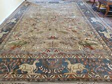 10 x 14 Vintage Design Caucasian Serapi Heriz Antique Oushak Shirvan Kazak Kula
