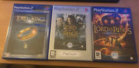 Lord Of The Rings Ps2 3 Game Bundle PlayStation 2 PAL