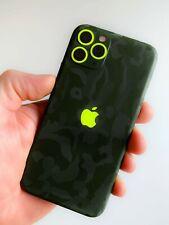 iphone 11 Pro Skin Wrap Folie Rückseite 3M Case Schutzfolie Military Neon Matt